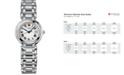 Longines Women's Swiss PrimaLuna Stainless Steel Bracelet Watch  27mm