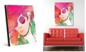 Creative Gallery Scarlet Wash Diva Abstract Acrylic Wall Art Print Collection