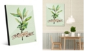 Creative Gallery Watercolor Sage on Green Acrylic Wall Art Print Collection
