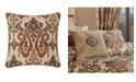 "J Queen New York J Queen Tucson 20"" Square Decorative Throw Pillow"