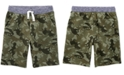 Carter's Little & Big Boys Cotton Camo-Print Pull-On French Terry Shorts