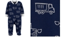Carter's Baby Boys Footed Truck Sleep and Play