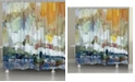 Laural Home Glacier Bay Shower Curtain