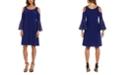 R & M Richards Cold-Shoulder Sheath Dress