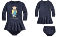 Polo Ralph Lauren Baby Girls French Terry Dress