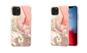 Richmond&Finch Pink Marble Gold Case for iPhone 11