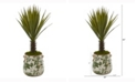 Nearly Natural 21in. Spiky Agave Artificial Plant in Floral Planter