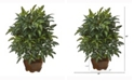Nearly Natural 26in. Bracken Fern Artificial Plant in Decorative Planter