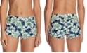 Raisins Juniors' In Bloom Printed Surf Swim Boyshorts
