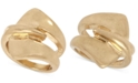 Robert Lee Morris Soho Gold-Tone Sculptural Layered Ring