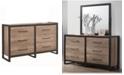 Coaster Home Furnishings Edgewater 6-Drawer Dresser