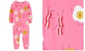 Carter's Baby Girls 1-Pc. Breakfast-Print Cotton Pajamas