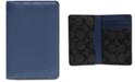 COACH Men's Colorblocked Card Wallet