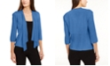 Alfani Petite Draped Open-Front Cardigan, Created for Macy's