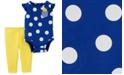Carter's Baby Girls 2-Pc. Cotton Sunshine Bodysuit & Leggings Set