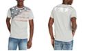Buffalo David Bitton Men's Faded Flag Graphic T-Shirt