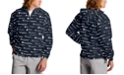 Champion Men's Logo-Print Half-Zip Packable Windbreaker