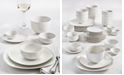 Tabletops Unlimited Whiteware 42-Piece Dinnerware Set, Service for 6, Created for Macy's