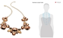 INC International Concepts I.N.C. Necklace, Gold-Tone Bronze Beaded Frontal Necklace
