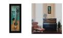Trendy Decor 4U Trendy Decor 4u Tune My Heart by Tonya Crawford, Ready to Hang Framed Print Collection