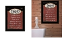 Trendy Decor 4U Trendy Decor 4U Laundry Rules by Linda Spivey, Ready to hang Framed Print Collection