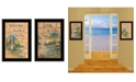 Trendy Decor 4U Trendy Decor 4U Living on the Lake 2-Piece Vignette by Mary June Collection