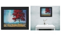 Trendy Decor 4U Trendy Decor 4U Red Tree by Tim Gagnon, Ready to hang Framed Print Collection