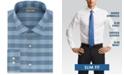 Kenneth Cole Reaction Men's Slim-Fit All-Day Flex Horizon Check Dress Shirt