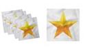 "Ambesonne Star Set of 4 Napkins, 12"" x 12"""