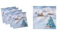 """Ambesonne Country Set of 4 Napkins, 12"""" x 12"""""""