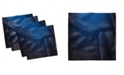 """Ambesonne Lines Ombre Set of 4 Napkins, 12"""" x 12"""""""