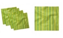 "Ambesonne Geometric Lines Set of 4 Napkins, 12"" x 12"""