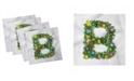 "Ambesonne Letter B Set of 4 Napkins, 12"" x 12"""