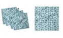 "Ambesonne Winter Snowflakes Set of 4 Napkins, 12"" x 12"""