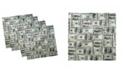 "Ambesonne Money Set of 4 Napkins, 12"" x 12"""