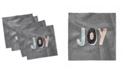 "Ambesonne Joy Set of 4 Napkins, 12"" x 12"""