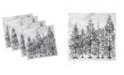 "Ambesonne Winter Set of 4 Napkins, 12"" x 12"""