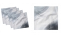 """Ambesonne Abstract Stripe Set of 4 Napkins, 18"""" x 18"""""""