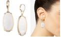 Lauren Ralph Lauren Gold-Tone Mother-Of-Pearl Oval Drop Earrings