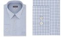 Van Heusen Men's Classic/Regular-Fit Non-Iron Performance Stretch Plaid Flex Collar Dress Shirt