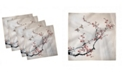 "Ambesonne Nature Set of 4 Napkins, 18"" x 18"""