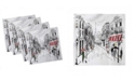 "Ambesonne Paris Set of 4 Napkins, 18"" x 18"""