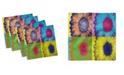 "Ambesonne Modern Art Set of 4 Napkins, 18"" x 18"""
