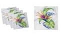 "Ambesonne Plant Set of 4 Napkins, 18"" x 18"""