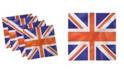 "Ambesonne Union Jack Set of 4 Napkins, 18"" x 18"""