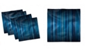 "Ambesonne Harbour Stripe Set of 4 Napkins, 18"" x 18"""