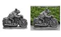 Campania International Cheesy Rider Garden Statue