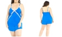 iCollection Plus Size Ultra Soft Cami & Short Set, Online Only