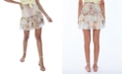 ALLISON NEW YORK Women's Tie Dye Smocked Mini Skirt