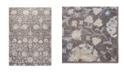 "Global Rug Designs Barnes Bar02 Brown 7'10"" x 10'2"" Area Rug"